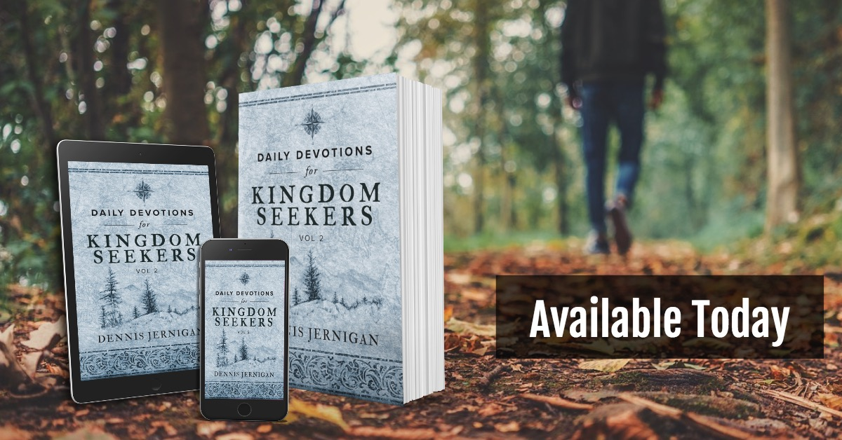New Book: Daily Devotions for Kingdom Seekers