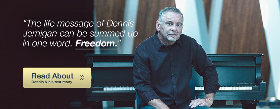 Read about Dennis Jernigan and his testimony