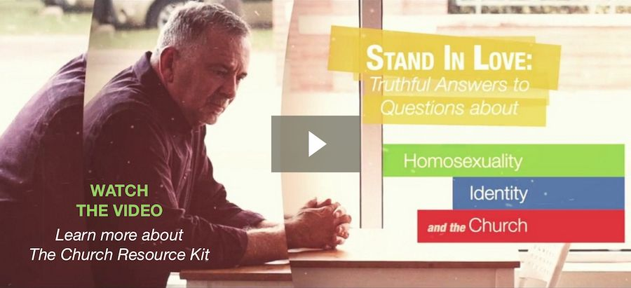 Watch the video about the resource kit that offers a perspective the world says isn't possible at http://dennisjernigan.com/stand-in-love